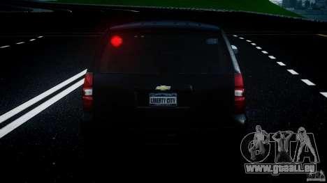 Chevrolet Tahoe 2007 pour GTA 4 roues