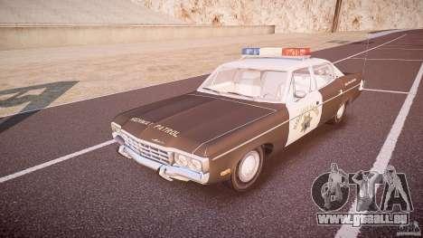 AMC Matador CHP [ELS] pour GTA 4