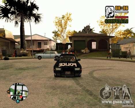 Polizei-Auto von NFS: MW für GTA San Andreas linke Ansicht