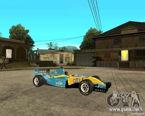 Renault F1 für GTA San Andreas rechten Ansicht