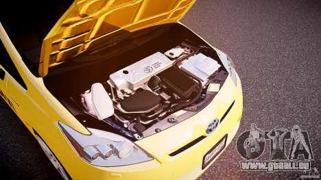 Toyota Prius NYC Taxi 2011 für GTA 4 Innenansicht