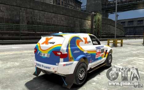 BMW X3 CC DAKAR pour GTA 4 est un droit
