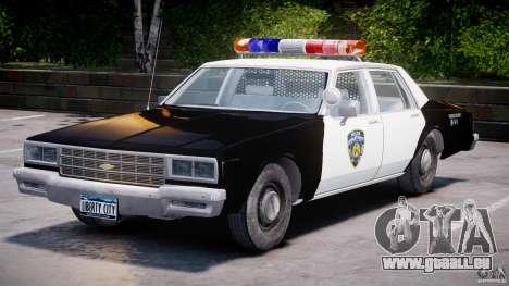 Chevrolet Impala Police 1983 [Final] für GTA 4 Seitenansicht