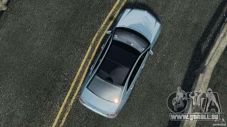 Mercedes-Benz E63 AMG 2010 pour GTA 4 est un droit