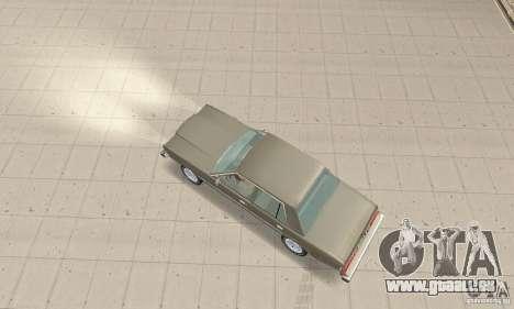 Dodge Diplomat 1985 v2.0 pour GTA San Andreas sur la vue arrière gauche