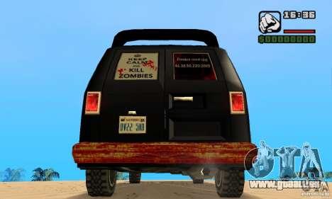 Blood Burrito pour GTA San Andreas sur la vue arrière gauche