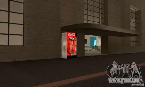 Cola Automat pour GTA San Andreas deuxième écran