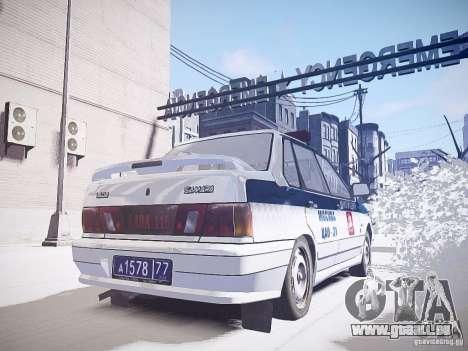 DPS VAZ 2115 pour GTA 4 Vue arrière de la gauche