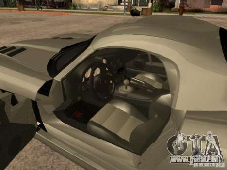 Dodge Viper Coupe 2008 für GTA San Andreas zurück linke Ansicht