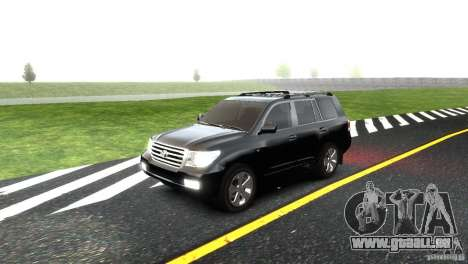 Toyota Land Cruiser 200 RESTALE pour GTA 4