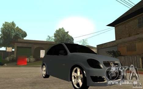 Chevrolet Celta VHC 2011 pour GTA San Andreas vue arrière