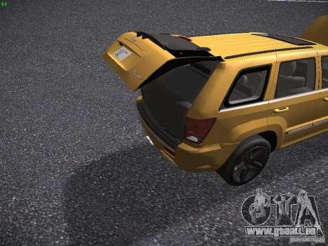 Jeep Grand Cherokee SRT8 für GTA San Andreas Seitenansicht