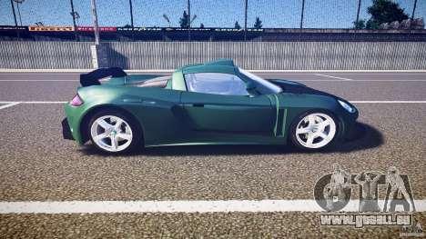 Porsche Carrera GT pour GTA 4 est une vue de l'intérieur