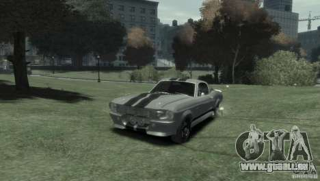 Ford Shelby GT500 Eleanor pour GTA 4