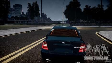 Subaru Legacy B4 GT pour GTA 4 vue de dessus