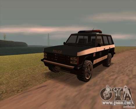 Huntley Police Patrol pour GTA San Andreas