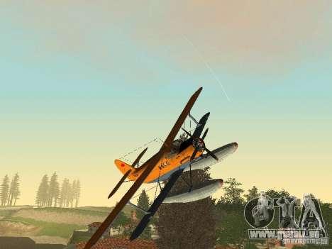 An-2V pour GTA San Andreas vue arrière