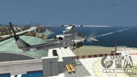 Bell AH-1Z Viper pour GTA 4 Vue arrière