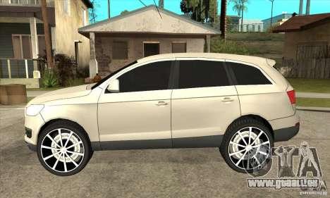 Audi Q7 v2.0 für GTA San Andreas linke Ansicht