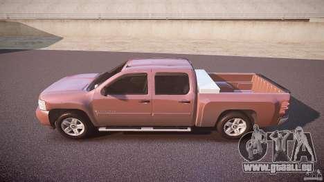 Chevrolet Silverado 1500 v1.3 2008 pour GTA 4 est une gauche