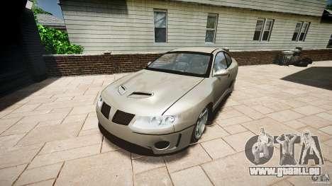Pontiac GTO 2004 pour GTA 4