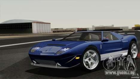 Bullet GT from TBOGT pour GTA San Andreas vue arrière