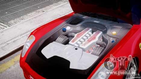 Ferrari 599 GTB Fiorano für GTA 4 Seitenansicht