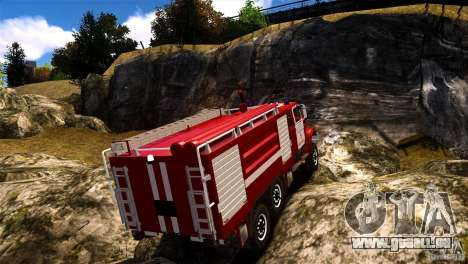 ZIL 433474 Feuerwehrmann für GTA 4 linke Ansicht