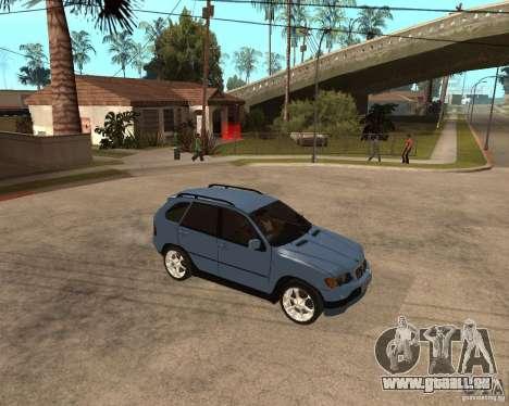 BMW X5 pour GTA San Andreas
