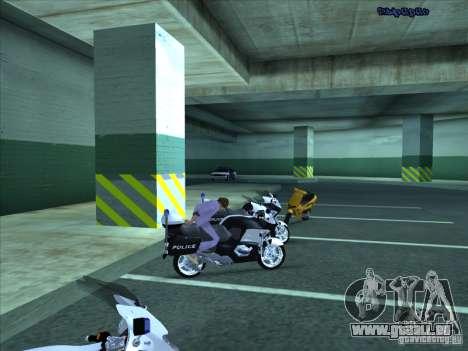 CopBike für GTA San Andreas Seitenansicht