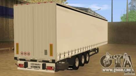 SchmitZ Cargobull für GTA San Andreas linke Ansicht
