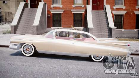 Cadillac Eldorado 1959 (Lowered) pour GTA 4 est une gauche