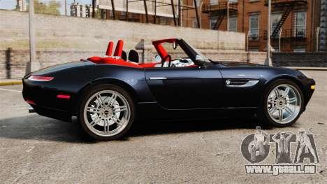 BMW Z8 2000 für GTA 4 linke Ansicht
