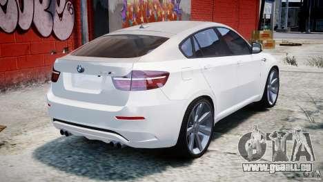 BMW X6M v1.0 für GTA 4 obere Ansicht