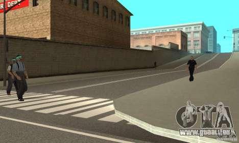 New Streets v2 pour GTA San Andreas troisième écran