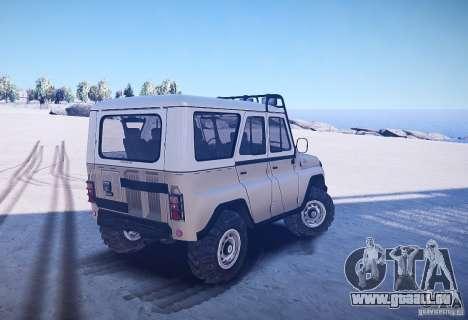 UAZ-31514 Version : 2.04 pour GTA 4 Vue arrière de la gauche