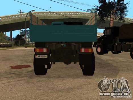KAMAZ-4355 pour GTA San Andreas vue arrière