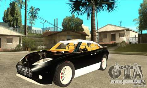 Spyker D8 Peking-to-Paris pour GTA San Andreas