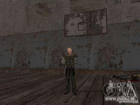 Degtyarev de Stalker pour GTA San Andreas huitième écran