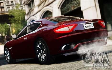 Maserati Gran Turismo S 2009 für GTA 4 rechte Ansicht
