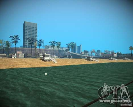 New textures beach of Santa Maria für GTA San Andreas
