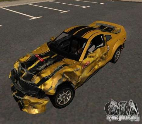 Road King from FlatOut 2 pour GTA San Andreas sur la vue arrière gauche