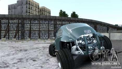 Baja Volkswagen Beetle V8 pour GTA 4 est une vue de l'intérieur