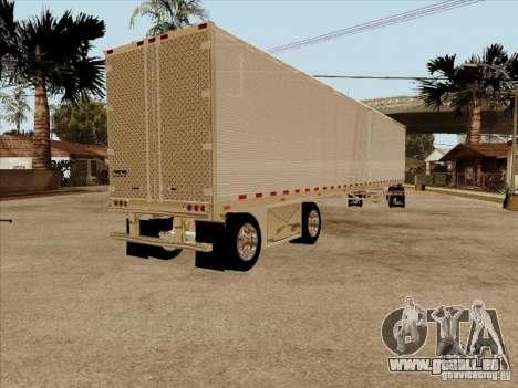 Anhänger, Peterbilt 379 Custom für GTA San Andreas rechten Ansicht