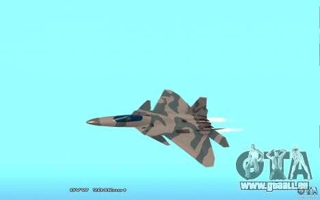 F/A-22 Velociraptor für GTA San Andreas
