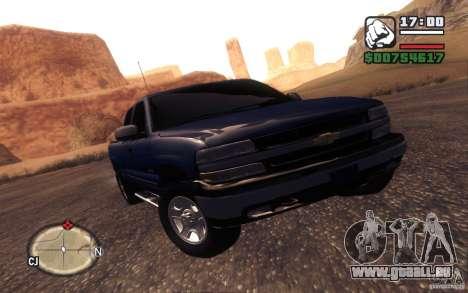 Chevrolet Silverado 2000 pour GTA San Andreas