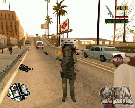 Ghost für GTA San Andreas fünften Screenshot