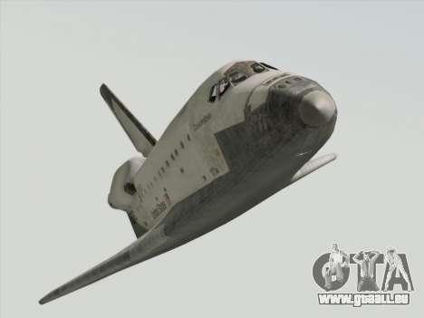 Space Shuttle für GTA San Andreas rechten Ansicht