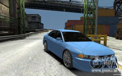 Mitsubishi Galant 8 VR-4 pour GTA 4 Vue arrière