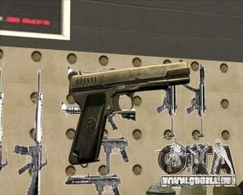 Tokarev TT Pistole für GTA San Andreas